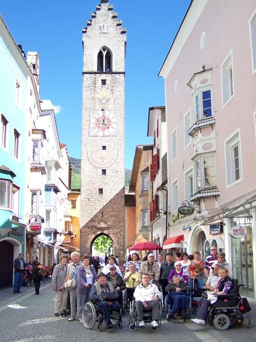 Behindertenreise Südtirol mit Eberhardt TRAVEL