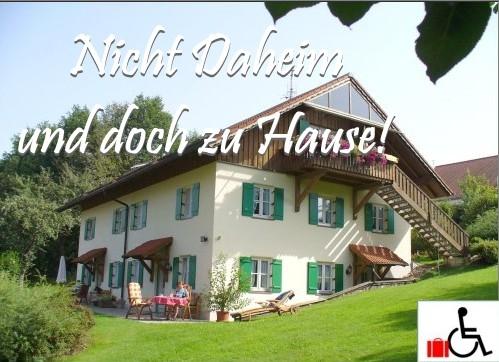 Barrierefreie Ferienwohnungen im Ferienhaus Bruckhuberhof