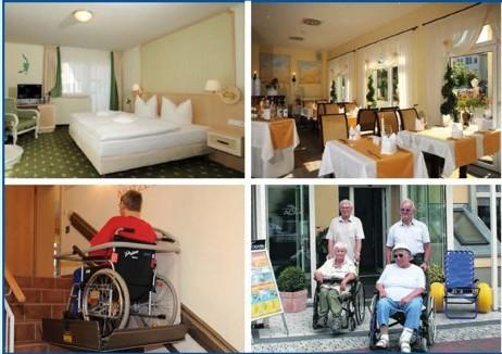 barrierefreier urlaub an der ostsee das ac hotel barrierefrei auf r gen. Black Bedroom Furniture Sets. Home Design Ideas