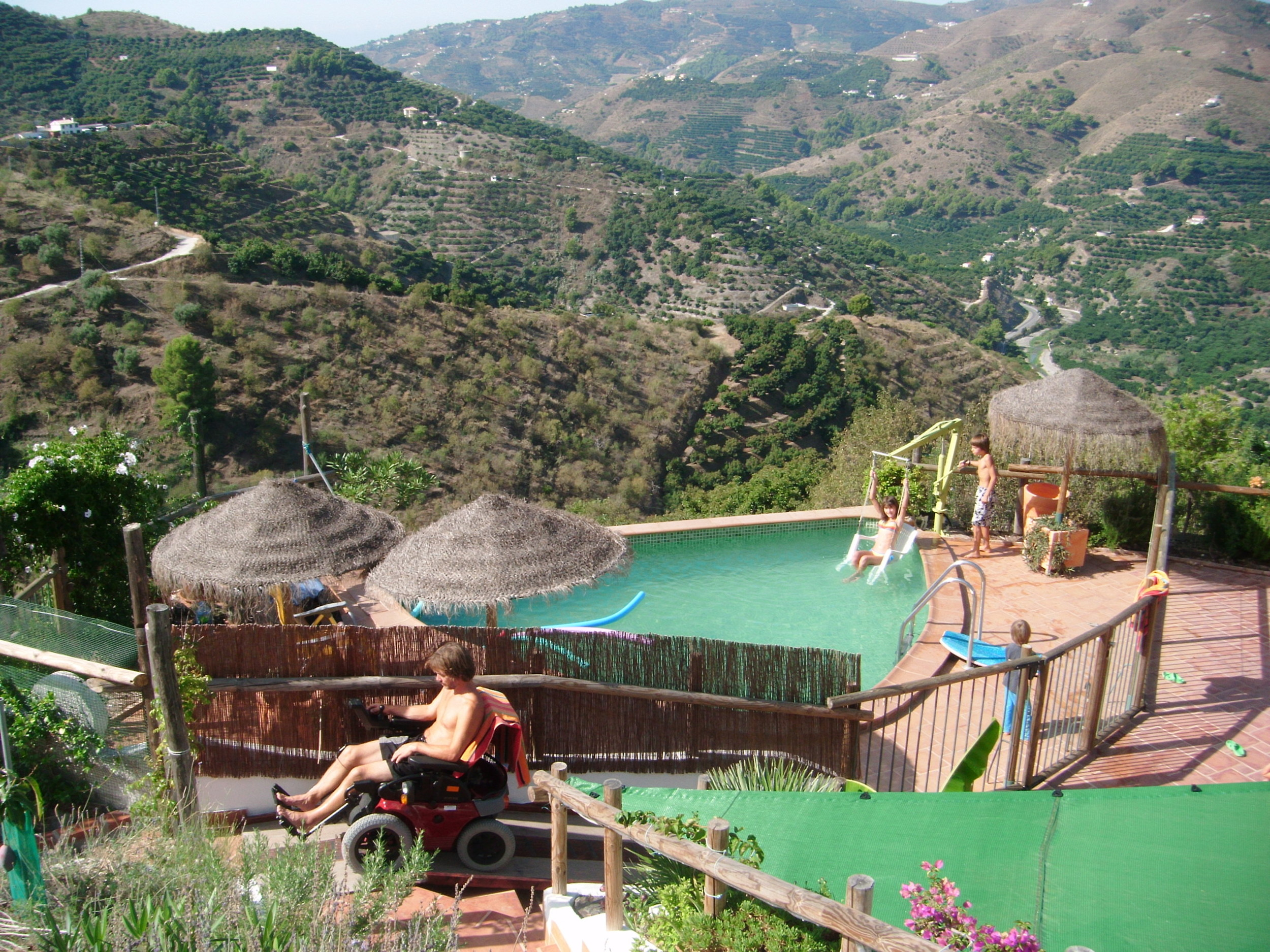 Rollstuhlurlaub in Andalusien - Colina Tropical