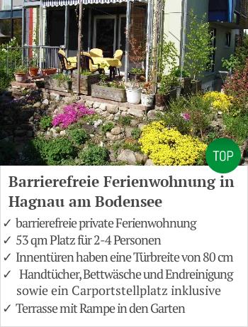 Barrierefreie Ferienwohnung am Bodensee