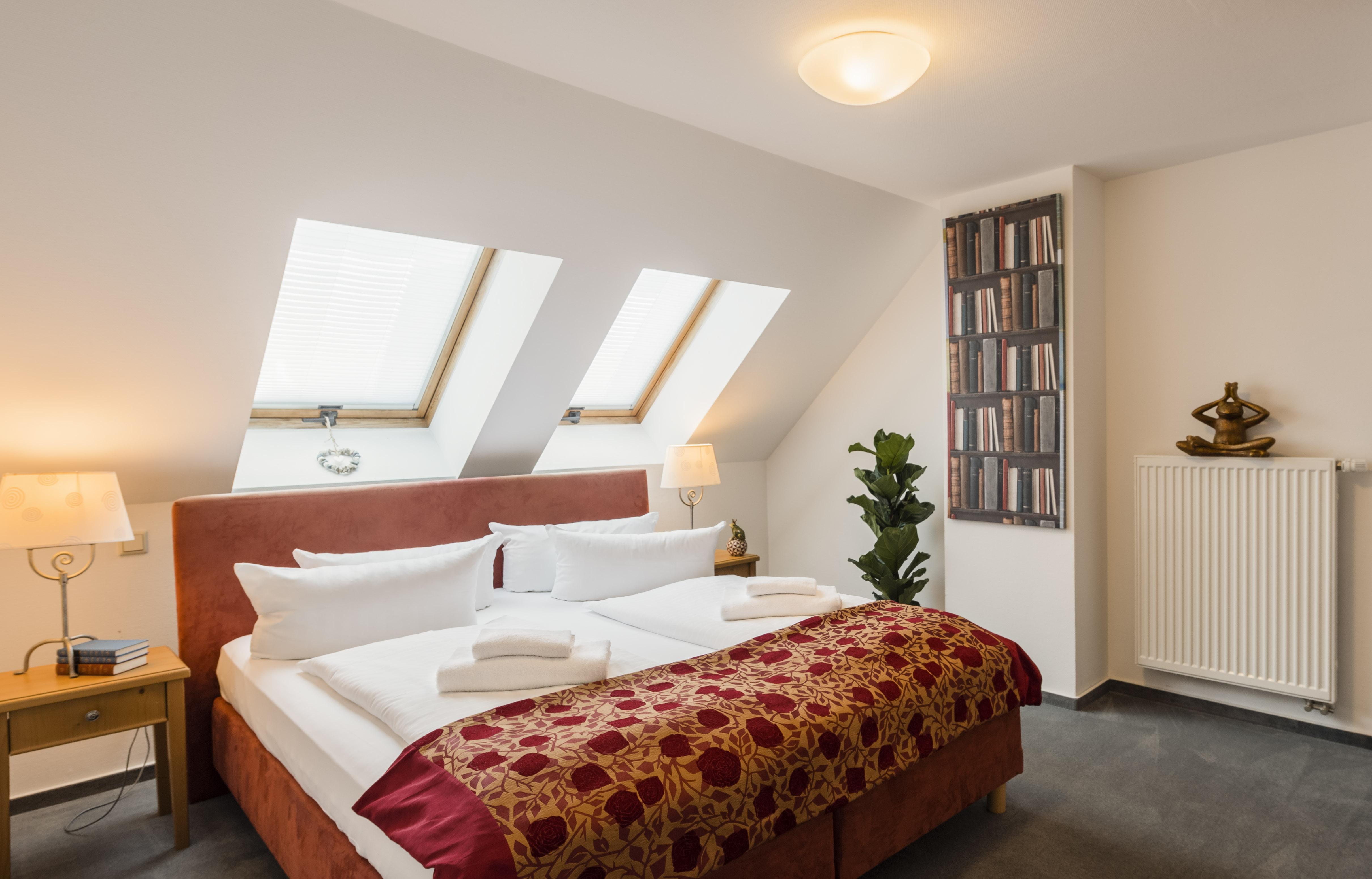 Appartement Schlafzimmerbeispiel